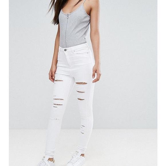2e02cfffe7e ASOS Jeans   Tall Ridley High Waist Skinny Jean   Poshmark